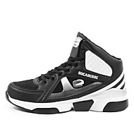 Men's Shoes Basketball/Casual/Outdoor Tulle Leather Fashion Sneakers Athletic Shoes Black/Yellow/Red 38-47