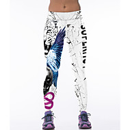 Yoga Pants Fundos Respirável Natural Stretchy Wear Sports Branco Mulheres Outros Ioga / Fitness / Corridas / Corrida