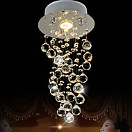 LightMyself 35W Modern/Contemporary Crystal Others Crystal Pendant LightsLiving Room / Bedroom / Dining Room / Kitchen