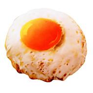 desenhos animados bonitos do ovo mexido novidade travesseiro almofada de algodão com inserção para decoração de casa
