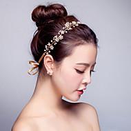 Mujer Perla / Cristal / Aleación Celada-Boda / Ocasión especial / Al Aire Libre Bandas de cabeza 1 Pieza