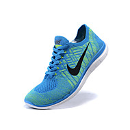 Nike FREE 4.0 FLYKNIT Best Seller Women's Shoes Fabric Fashion Sneakers Black / Blue / Yellow / Purple / Black and White / Burgundy