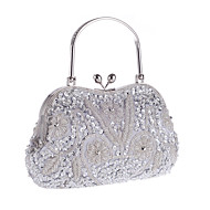 L.WEST® Women's Handmade High-grade Retro Beaded Flower Party/Evening Bag