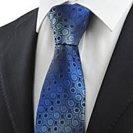 עניבה-מנוקד(כחול,פוליאסטר)