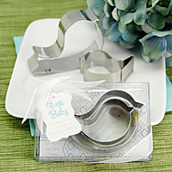 "Tweet Baby"" Mamma and Baby Bird Stainless-Steel Cookie Cutters"