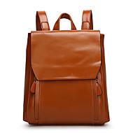 Women PU Casual Backpack Blue / Green / Brown / Black / Burgundy