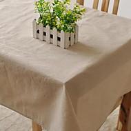 solide tissu de table de mode hotsale de haute qualité draps en coton table basse carrée couverture en tissu éponge