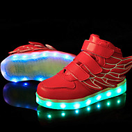 LED Shoes Boys' Shoes Athletic / Casual Synthetic Fashion Sneakers Black / Blue / Green / Pink / Red / White