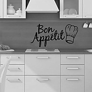 Food Kitchen Wall Decals Shapes Wall Stickers Plane Wall Stickers,vinyl 58*28cm