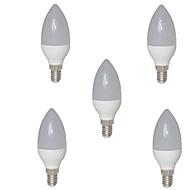5W E14 Luzes de LED em Vela C35 15 SMD 2835 720 lm Branco Quente AC 220-240 V