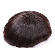 """7""""*9"""" Men's Toupees Wigs Hair Replacement System for Men Natural Looking"""