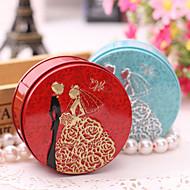 6 Stück / Set Geschenke Halter-Zylinder Metall Geschenkboxen Süßigkeiten Gläser und Flaschen Geschenk Schachteln Nicht personalisiert