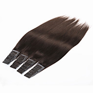 "Brazilian Virgin Human Hair Tape Hair Extension 20pcs/70g 24"" 26"" PU Skin Weft Human Hair Extensions Hair Weft"