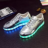 Women's Shoes Leather /  Flat Heel Ballerina / Novelty Flats / Fashion Sneakers / Athletic ShoesWedding