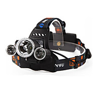 Lights Headlamps / Headlamp Straps LED 6000 Lumens 4 Mode Cree XM-L T6 18650 Waterproof / Rechargeable / Night Vision