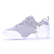 Non Customized Women's Dance Shoes EU35-EU41 Tulle Leather Jazz/Modern/Casual Dance Sneakers Casual Shoes