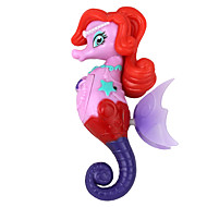 elektron induktion svømme seahorse prinsesse legetøj rød lilla flerfarvet