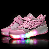 LED Light Up Shoes, Girls' Shoes / Casual Roller Skate Shoes / Fashion Sneakers Pink / Black and Red / Black and White
