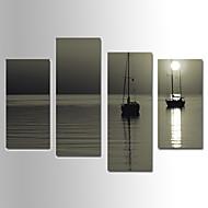Landschaft Leinwand drucken Vier Panele Fertig zum Aufhängen,jede Form