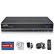 SANNCE 8CH 960H DVR  Multi-mode input w/ eCloud HDMI 1080P/VGA/BNC Output-Real Time Remote View,QR code scan P2P