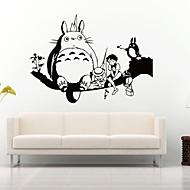 Hayvanlar / Botanik / Karton / Natürmort / Şekiller / İnsanlar / Fantezi Duvar Etiketler Uçak Duvar Çıkartmaları,vinyl 58*42cm