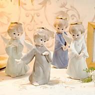 Figurine(Weiß,Keramik) -Nicht-personalisierte-Quinceañera & Der 16te Geburtstag / Geburtstag / Hochzeit / Jubliläum / Brautparty /