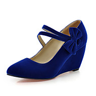 The new autumn shallow mouth high-heeled women's singles first toe high heels shoes slope with a single shoe summer