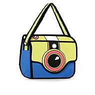 3d Personality Casual Shoulder Camera Bag Handbag Cartoon Satchel Shoulder Bag Cross Body Bag Tote