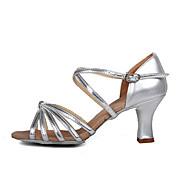 נעלי נשים-סנדלים-סטן-עקבים-כסוף / זהב-חתונה / שטח / משרד ועבודה / שמלה / קז'ואל / מסיבה וערב / Work & Duty-עקב סטילטו