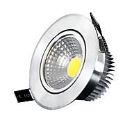 5W Stropní světla / Panel Zápustná 5 COB 400-500 lm Chladná bílá Stmívací AC 220-240 V