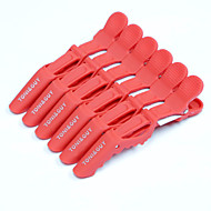 neitsi muovi croc luistamaton leikkeet muotoilutuotteet salon leikkeet 6kpl / pakkaus