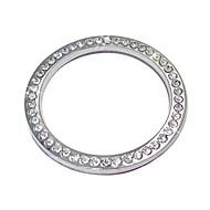 ziqiao auto dekorációs kellékek autó gomb kapcsoló gomb gyémánt gyűrű