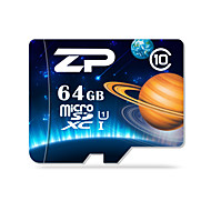 ZP 64GB כרטיס SD כרטיס TF מיקרו כרטיס זיכרון UHS-I U1 Class10