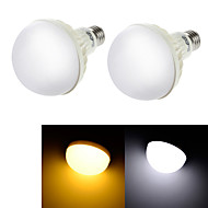 YouOKLight® 2PCS E27 5W CRI>70 9*SMD5630 400LM  Cold White 6000K  Warm White 3000K LED Globe Bulbs (AC 220V)