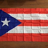 Puerto Rico Flag 3Ftx5Ft Activities To Commemorate The Quality Polyester Decorative Flags (Without flagpole)