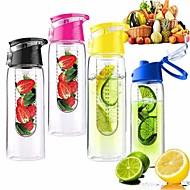 eco-friendly 800ml de Ciclismo frutas infundindo infusor xícara de suco de limão água bicicleta saúde (cor aleatória)