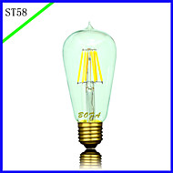 BOFA ST58 LED 5W Antique Edison Silk ball Bubble Lamp(85V-265V)
