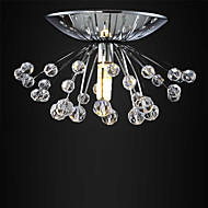 hot sale design modern crystal chandelier light Dia15*H7cm mini lustre cristal led lamp Flush Mount