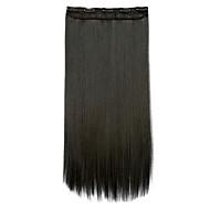 Mit Clip Clip In/On Haarverlängerungen Kunststoff Haarverlängerung