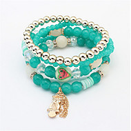 Bracciali Per donna Con ciondoli / Collezione Persona Beads Lega Onice