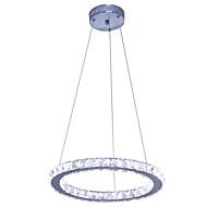 16 Watt Zeitgenössisch LED Chrom Metall Pendelleuchten Wohnzimmer / Schlafzimmer / Esszimmer / Studierzimmer/Büro