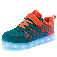 Jongens Sneakers Herfst Winter Eerste schoentjes Light Up Schoenen Luminous Shoe Tule Buiten Casual Sport Lage hak LED