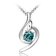 Thousands of colors  Women's Alloy Necklace Daily Crystal-1-150