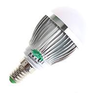 3W E14 / GU10 נורות גלוב לד A60(A19) 6 SMD 5730 280lumens lm לבן חם / לבן טבעי דקורטיבי AC 100-240 V חלק 1