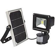 10W Solar Powered Outdoor LED Garden Lights LEDs PIR Body Motion Sensor Solar Floodlights