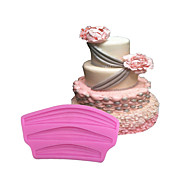 Ribbon/ Lacework Type Candy Fondant Cake Molds  For The Kitchen Baking Molds