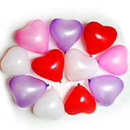 100pcs Heart Shape Balloner Begivenheder Bryllup Birthday Party Dekoration Supplies Ballon Party Decora
