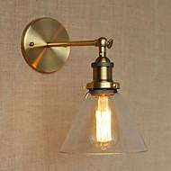 Glass Lampshade Wall Sconces,Traditional/Classic E26/E27 Metal