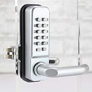 Second Version Mechanical Password Glass Door Lock,Keyless Code Locks