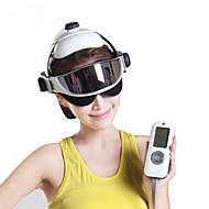 לכל הגוף / עין / ראש מעסה חשמלי אינפרא-אדום / רטט / לחץ אוויר משפר את זרימת הדם בראש / יופי דינמיקה מתכווננת Plastic